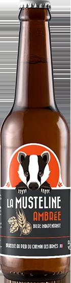 Bière La Musteline Ambrée