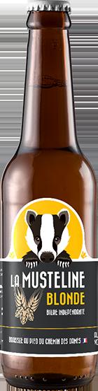 Bière La Musteline Blonde