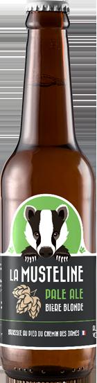 Bière La Musteline Pale Ale