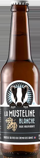 Bière La Musteline Blanche